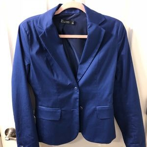 EUC NY&Co blazer with striped liner